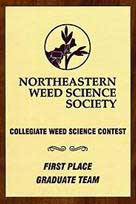 Weed Science Contest Award